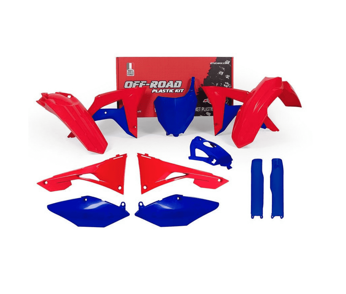 HONDA CRF 450 2017-2020, CRF 250 2018-2020 BLUE / RED
