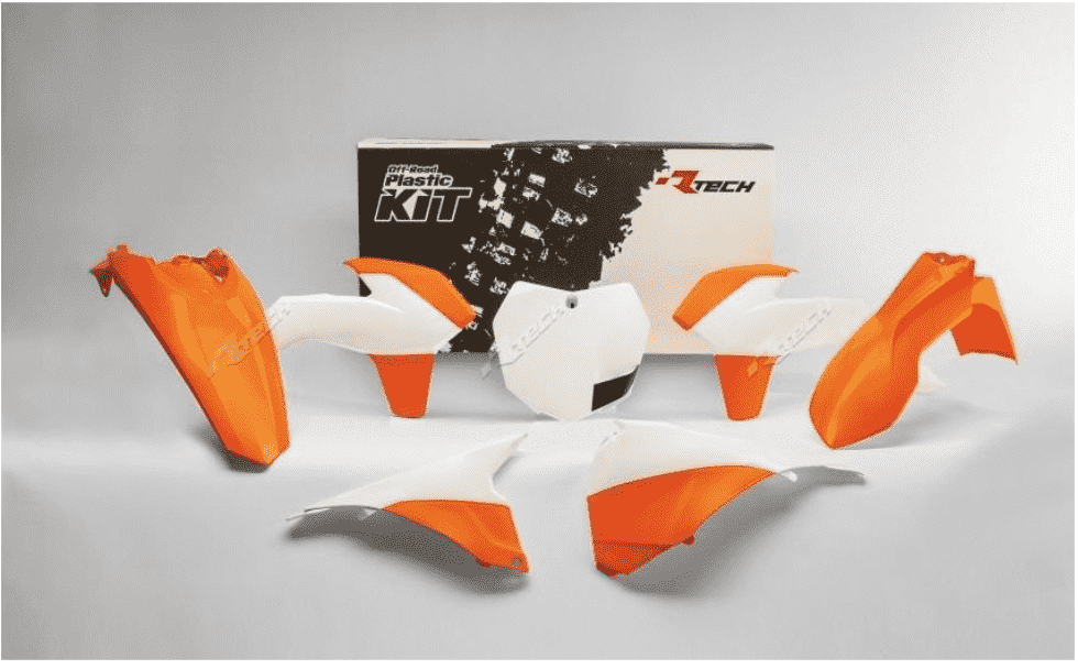 KTM SX-SXF 125-450 2013-2015 WHITE / ORANGE