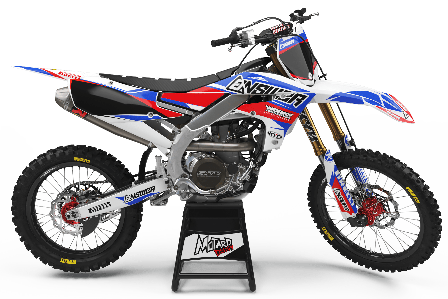 YAMAHA GRAPHICS KIT - CHUBY