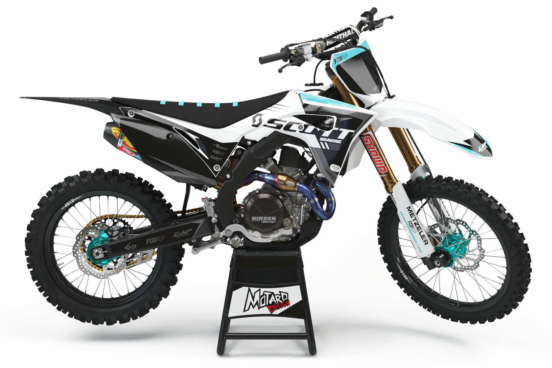 HONDA GRAPHICS KIT - SCOUT