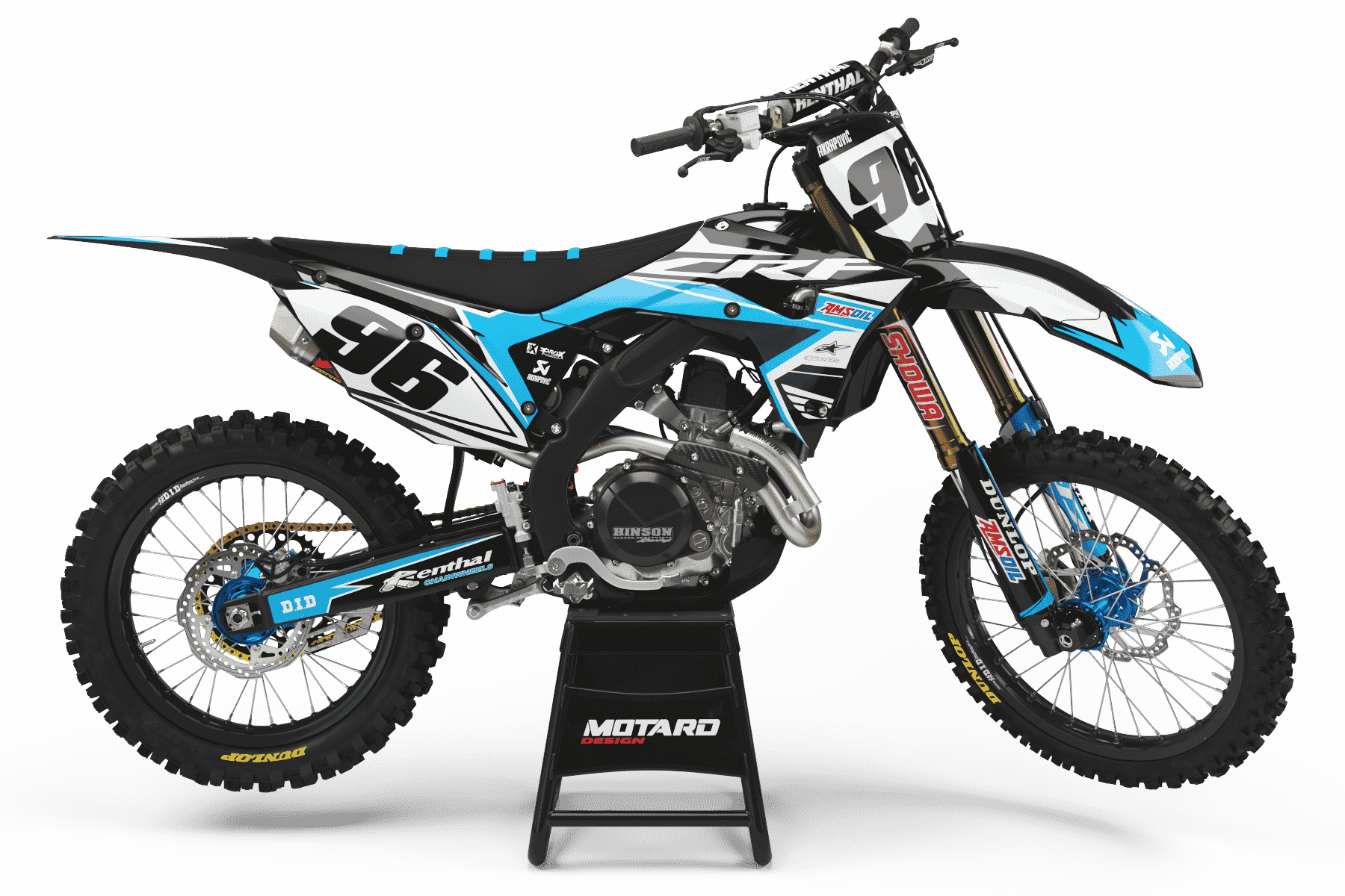 HONDA GRAPHICS KIT - AKRA CYAN