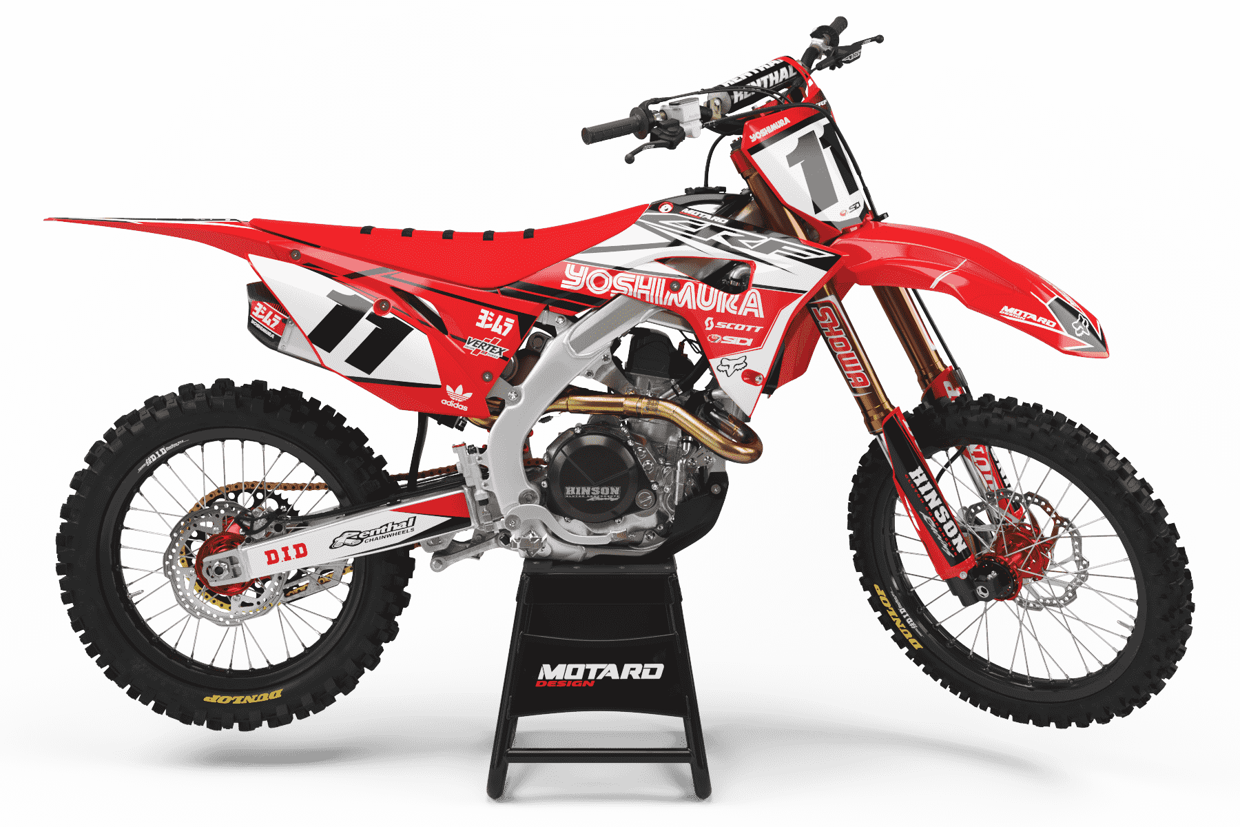 HONDA GRAPHICS KIT - YOSHIMURA RED