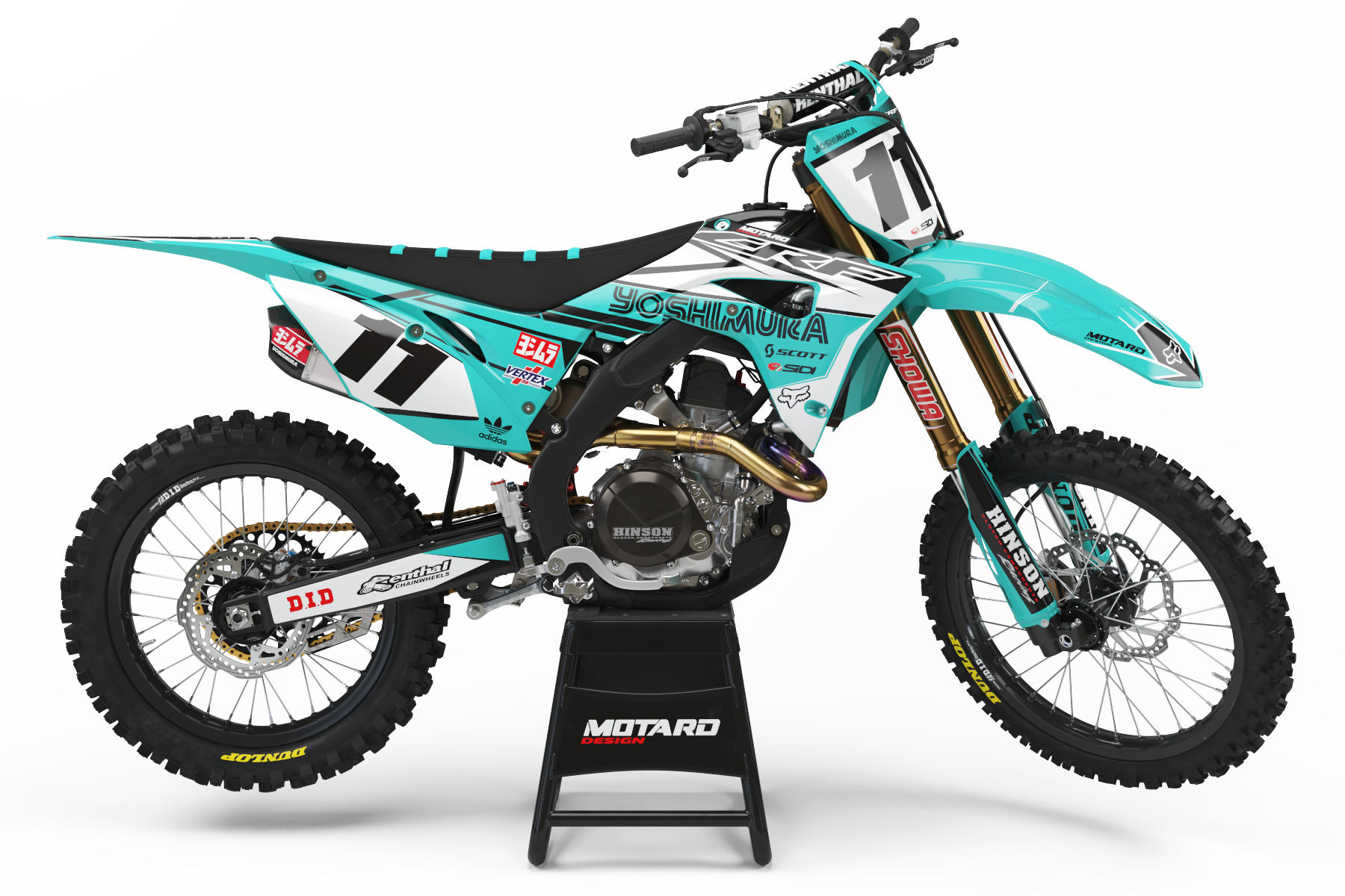 HONDA GRAPHICS KIT - YOSHIMURA TEAL
