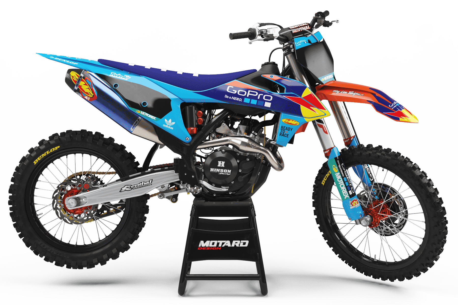 KTM GRAPHICS KIT - BLUE REPLICA