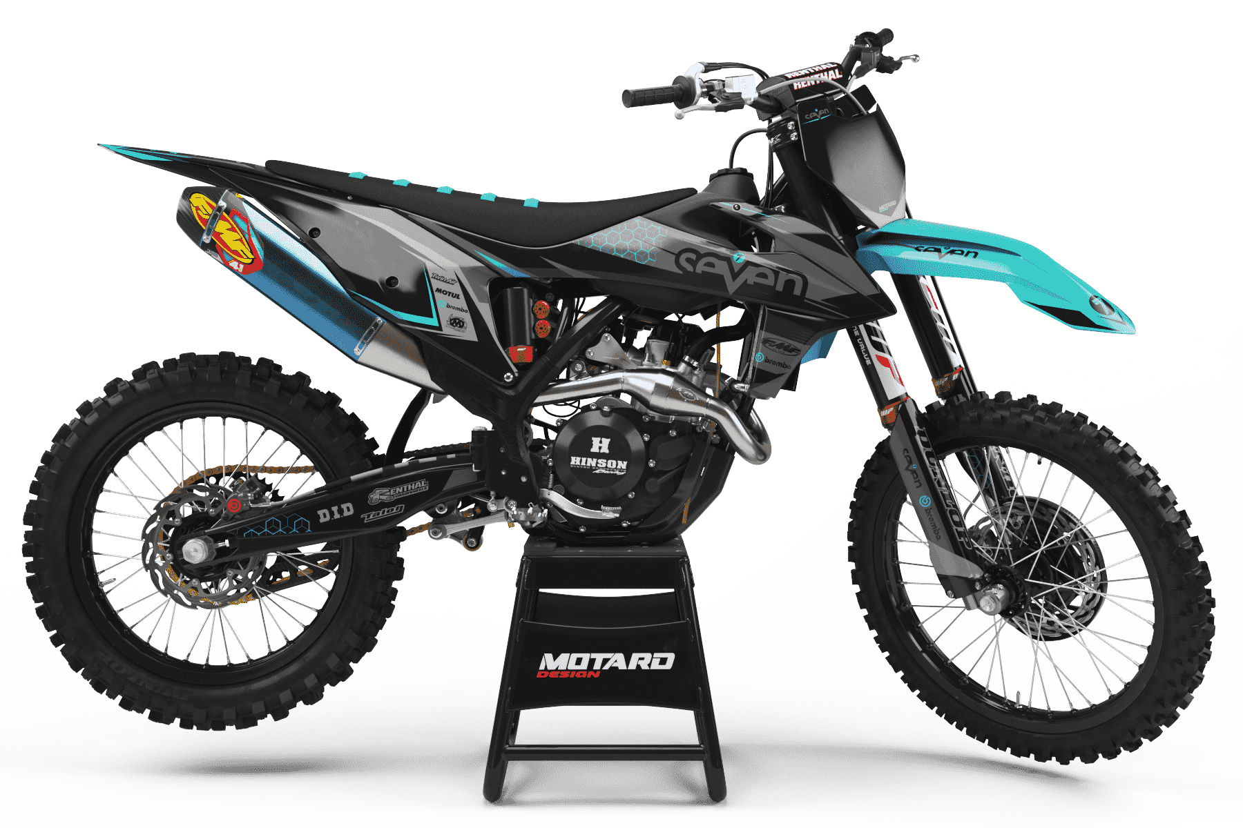 KTM GRAPHICS KIT - BRIDGE TEAL
