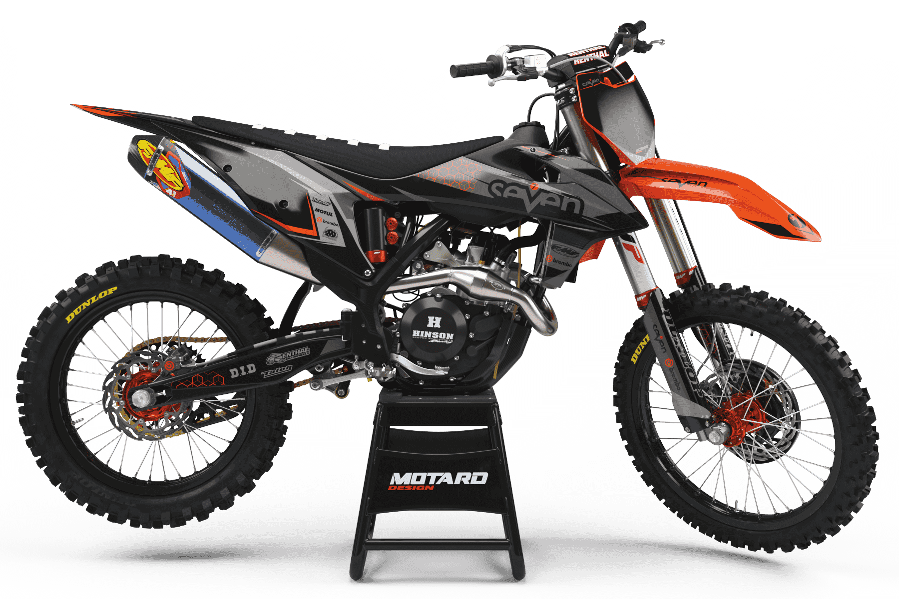KTM GRAPHICS KIT - BRIDGE ORANGE