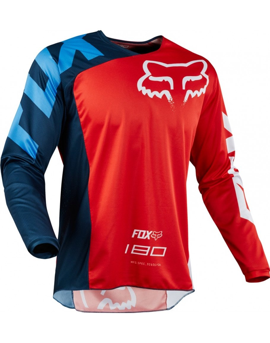 Dres FOX 180 Race red 2018