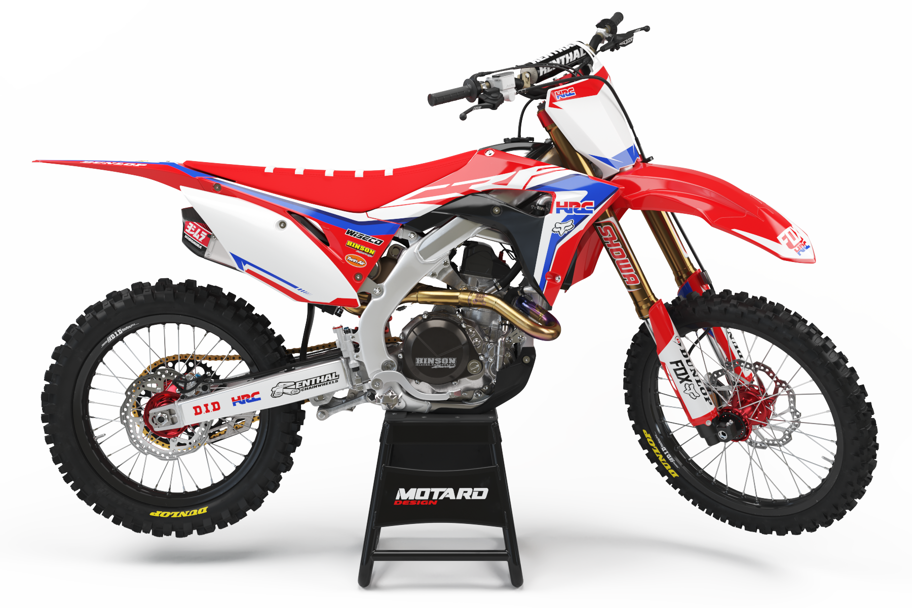 HONDA GRAPHICS KIT - HRC