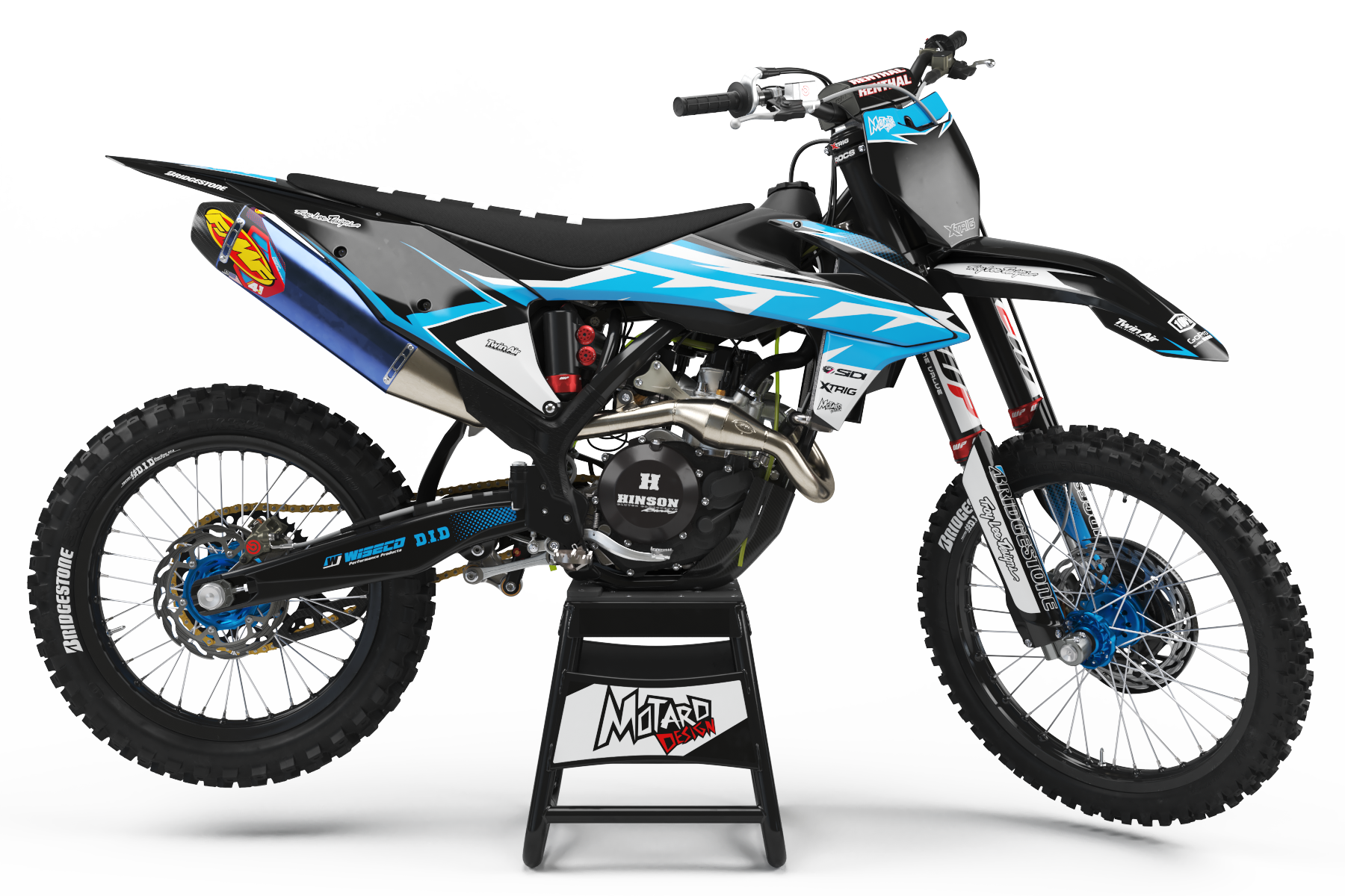 KTM GRAPHICS KIT - ELYSIUM CYAN