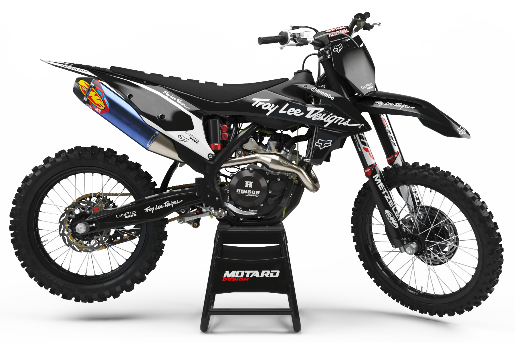 KTM GRAPHICS KIT - BLACK&WHITE